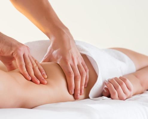 massaggio coscie